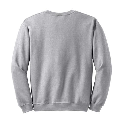 Custom Printed Fruit of the Loom 82300R Supercotton 7030 Fleece Crewneck Sweatshirt - 1 - Back View | ThatShirt