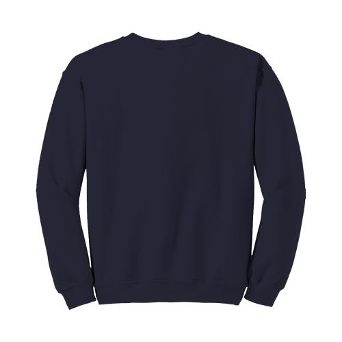Custom Printed Fruit of the Loom 82300R Supercotton 7030 Fleece Crewneck Sweatshirt - 4 - Back View | ThatShirt