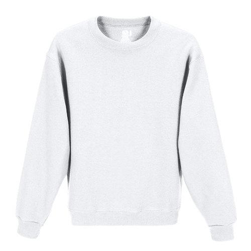 Custom Printed Fruit of the Loom 82300R Supercotton 7030 Fleece Crewneck Sweatshirt - Front View | ThatShirt