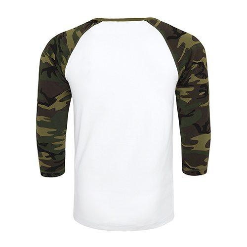 Custom Printed ATC 0822 Active Baseball Tee - 2 - Back View   ThatShirt
