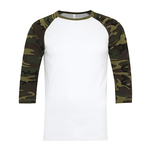 Custom Printed ATC 0822 Active Baseball Tee - Front View   ThatShirt