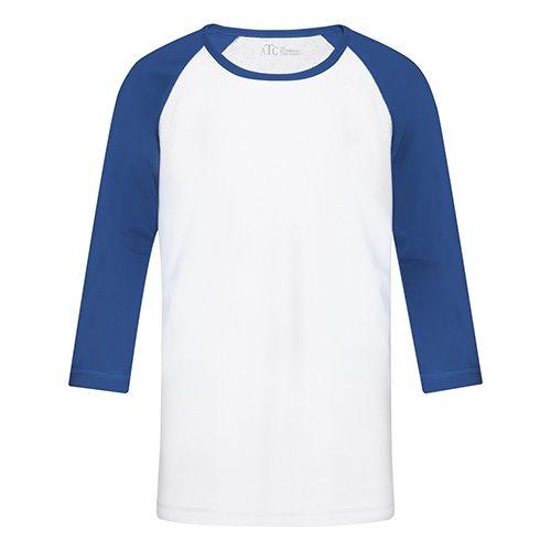 Custom Printed ATC 0822Y Youth Active Baseball Tee - Front View   ThatShirt