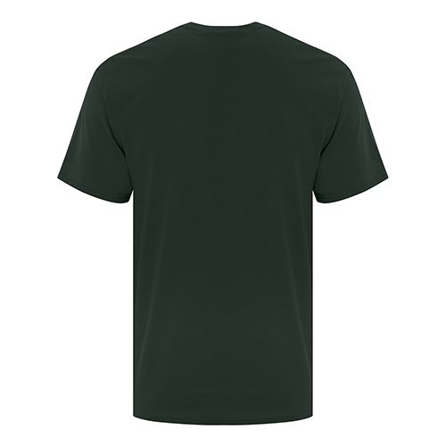 Custom Printed ATC 1000 Everyday Cotton Tee - 4 - Back View | ThatShirt