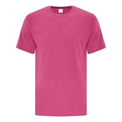 Custom Printed ATC 1000 Everyday Cotton Tee - Front View   ThatShirt