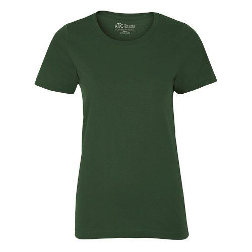 Custom Printed ATC 8000L Ladies' EuroSpun Tee - Front View | ThatShirt