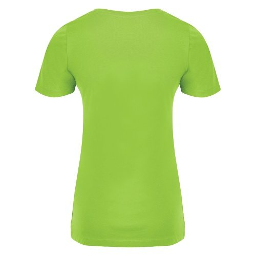 Custom Printed ATC 8000L Ladies' EuroSpun Tee - 10 - Back View | ThatShirt