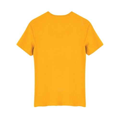 Custom Printed ATC 8000Y Youth EuroSpun Tee - Gold - Back View | ThatShirt