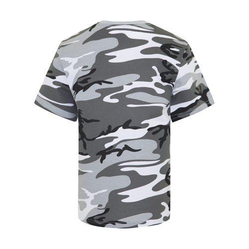 Custom Printed ATC 8000Y Youth EuroSpun Tee - 6 - Back View   ThatShirt