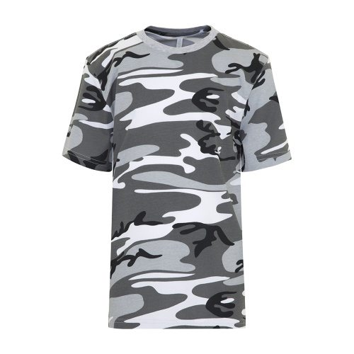 Custom Printed ATC 8000Y Youth EuroSpun Tee - Front View   ThatShirt