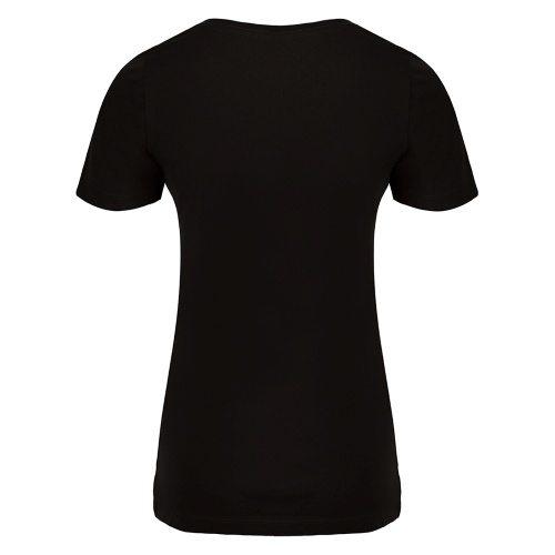Custom Printed ATC 8001L Ladies' EuroSpun V-Neck Tee - 2 - Back View | ThatShirt