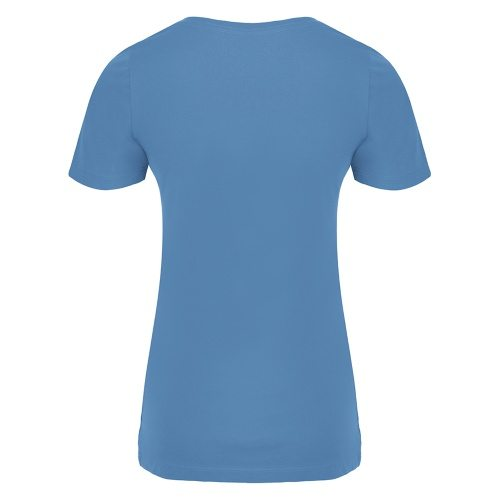 Custom Printed ATC 8001L Ladies' EuroSpun V-Neck Tee - 0 - Back View | ThatShirt