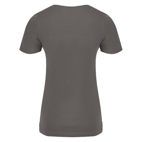 Custom Printed ATC 8001L Ladies' EuroSpun V-Neck Tee - 5 - Back View | ThatShirt
