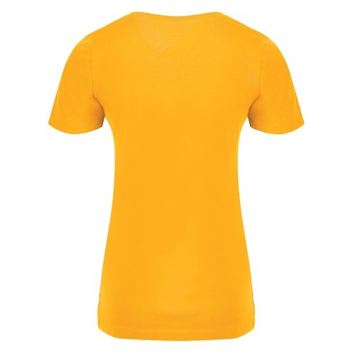 Custom Printed ATC 8001L Ladies' EuroSpun V-Neck Tee - 9 - Back View | ThatShirt