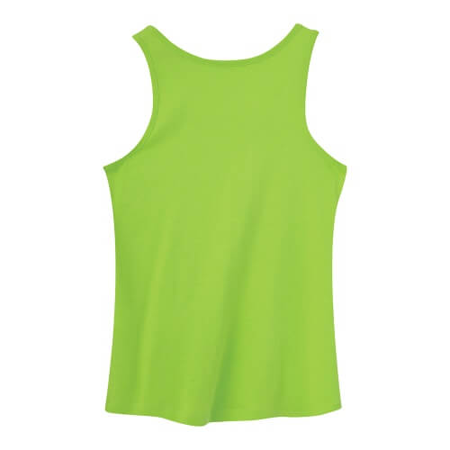 Custom Printed ATC 8004L Ladies' EuroSpun Tank Top - 3 - Back View | ThatShirt