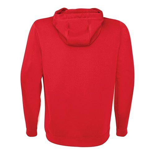 Custom Printed ATC F2005 Game Day Fleece Hooded Sweatshirt - True Red - Back View | ThatShirt