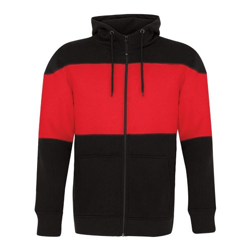 ATC F2008 Pro Fleece Full Zip Colour Block Hooded Sweatshirt