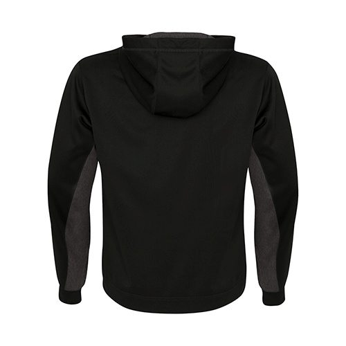 Custom Printed ATC F2011 Game Day Fleece Colour Block Hooded Sweatshirt - 1 - Back View   ThatShirt