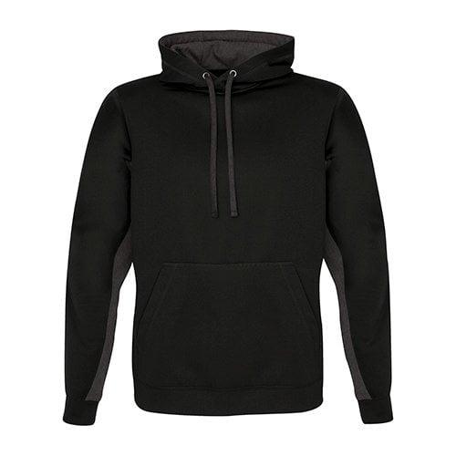 Custom Printed ATC F2011 Game Day Fleece Colour Block Hooded Sweatshirt - Front View   ThatShirt