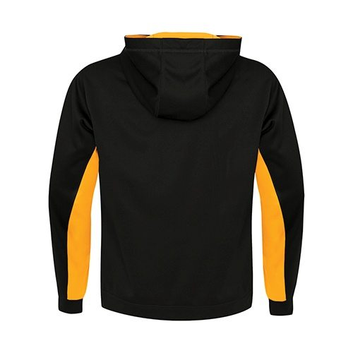Custom Printed ATC F2011 Game Day Fleece Colour Block Hooded Sweatshirt - 0 - Back View | ThatShirt
