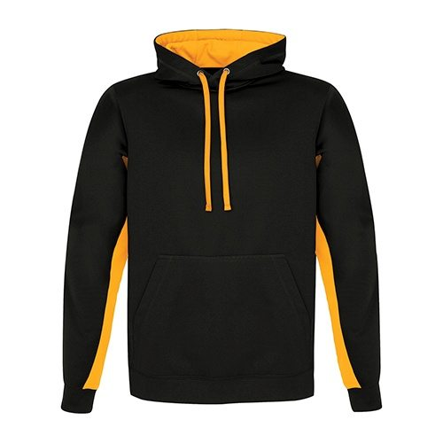 Custom Printed ATC F2011 Game Day Fleece Colour Block Hooded Sweatshirt - Front View | ThatShirt