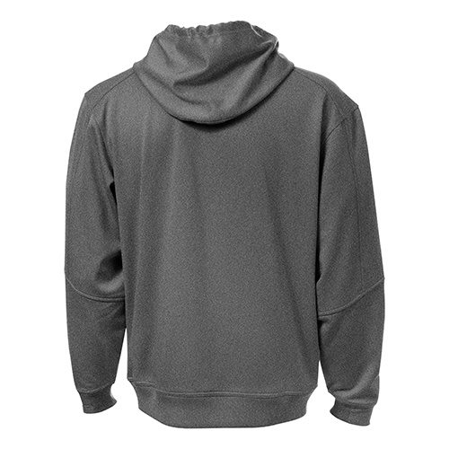 Custom Printed ATC F220 PTech Fleece Hooded Sweatshirt - 2 - Back View | ThatShirt