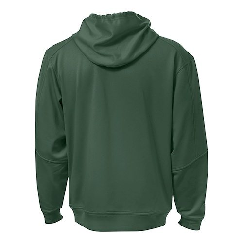 Custom Printed ATC F220 PTech Fleece Hooded Sweatshirt - 3 - Back View | ThatShirt