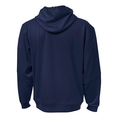 Custom Printed ATC F220 PTech Fleece Hooded Sweatshirt - 6 - Back View | ThatShirt