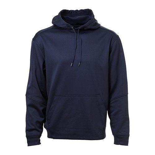Custom Printed ATC F220 PTech Fleece Hooded Sweatshirt - Front View | ThatShirt