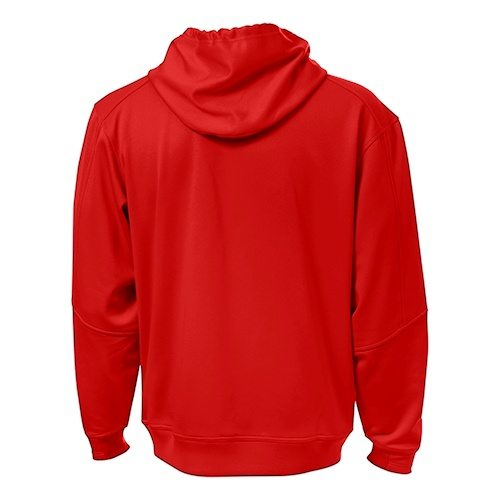 Custom Printed ATC F220 PTech Fleece Hooded Sweatshirt - 7 - Back View | ThatShirt