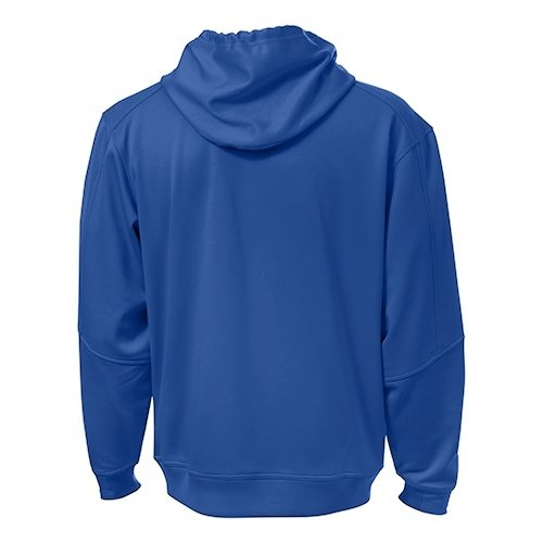 Custom Printed ATC F220 PTech Fleece Hooded Sweatshirt - 0 - Back View | ThatShirt