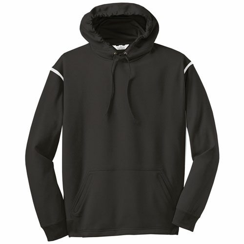 Custom Printed ATC F2201 Ptech Fleece VarCITY Hooded Sweatshirt - Front View | ThatShirt