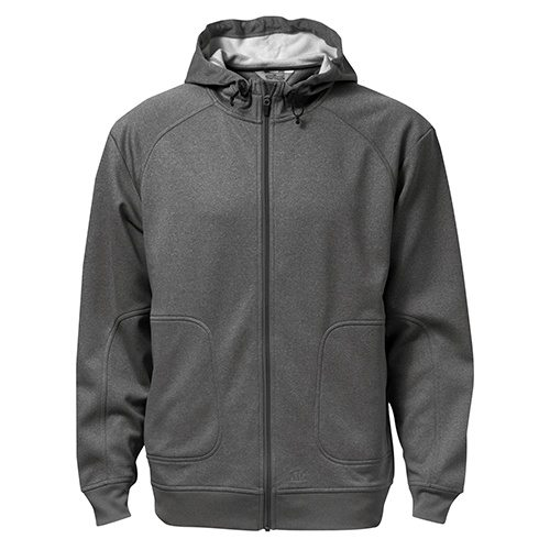 Custom Printed ATC F221 PTech Fleece Hooded Jacket - Front View | ThatShirt