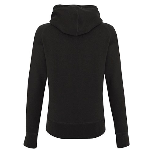 Custom Printed ATC L2002 Ladies' Pro Fleece Funnel Neck Hooded Sweatshirt - 0 - Back View | ThatShirt