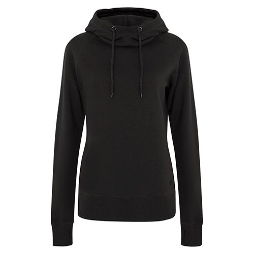 Custom Printed ATC L2002 Ladies' Pro Fleece Funnel Neck Hooded Sweatshirt - 0 - Front View | ThatShirt