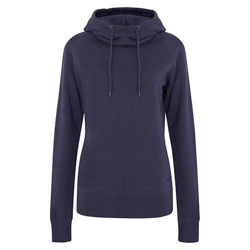 Custom Printed ATC L2002 Ladies' Pro Fleece Funnel Neck Hooded Sweatshirt - Front View | ThatShirt
