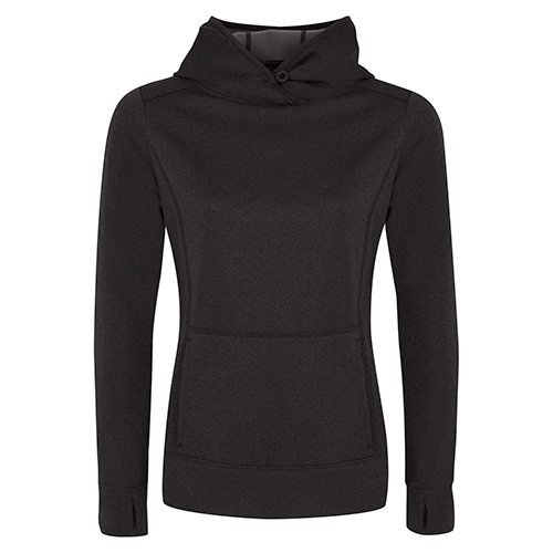 Custom Printed ATC L2005 Ladies' Game Day Fleece Hooded Sweatshirt - Front View   ThatShirt