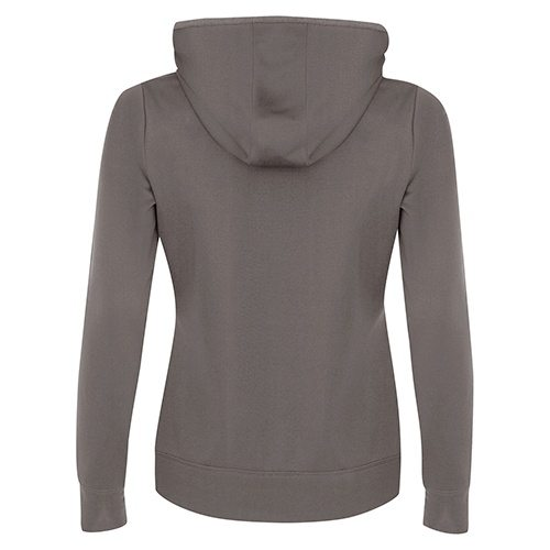 Custom Printed ATC L2005 Ladies' Game Day Fleece Hooded Sweatshirt - 3 - Back View | ThatShirt