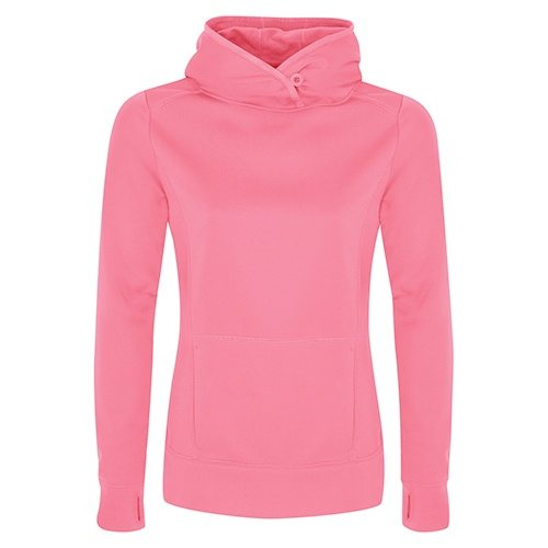 Custom Printed ATC L2005 Ladies' Game Day Fleece Hooded Sweatshirt - Front View | ThatShirt