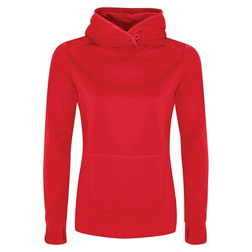 Custom Printed ATC L2005 Ladies' Game Day Fleece Hooded Sweatshirt - Front View | ThatShirt