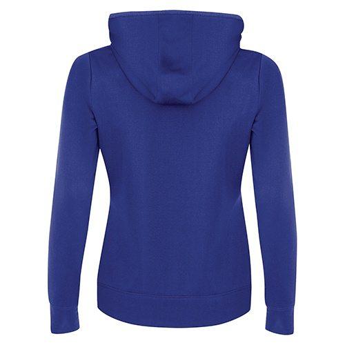 Custom Printed ATC L2005 Ladies' Game Day Fleece Hooded Sweatshirt - 8 - Back View | ThatShirt