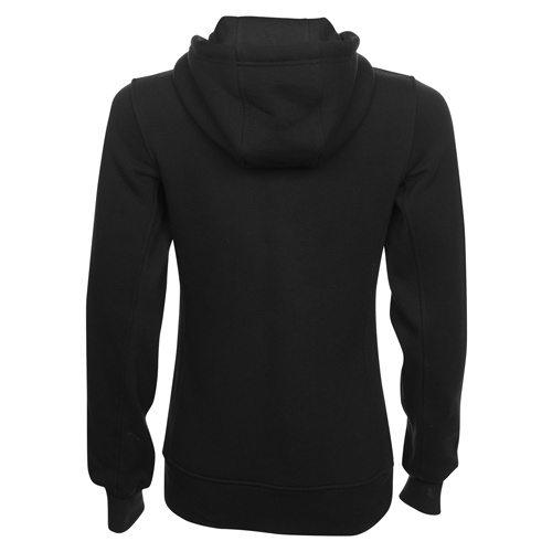 Custom Printed ATC L201 Ladies' Pro Fleece Full Zip Hooded Sweater - Black - Back View | ThatShirt