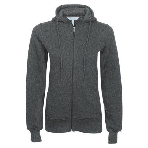 Custom Printed ATC L201 Ladies' Pro Fleece Full Zip Hooded Sweater - Front View   ThatShirt