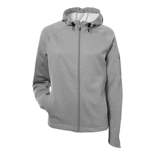 Custom Printed ATC L221 Ladies' PTech Fleece Hooded Jacket - 3 - Front View | ThatShirt