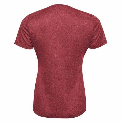 Custom Printed ATC L3517 Ladies' Pro Team ProFormance V-Neck Tee - 1 - Back View   ThatShirt