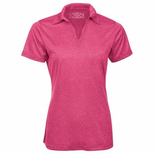 Custom Printed ATC L3518 Ladies' Pro Team Performance Golf Shirt - Front View | ThatShirt