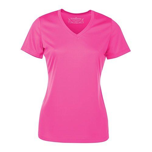Custom Printed ATC L3520 Ladies' Pro Team Short Sleeve V-Neck Tee - Front View | ThatShirt