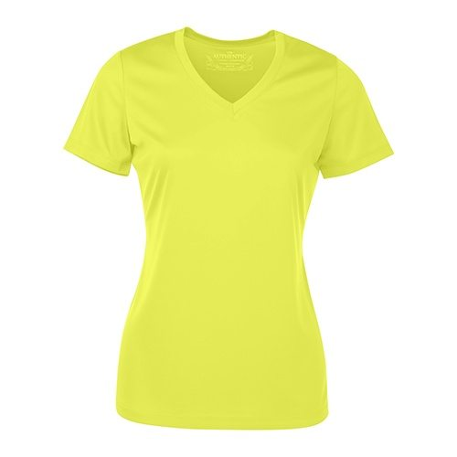 Custom Printed ATC L3520 Ladies' Pro Team Short Sleeve V-Neck Tee - Front View | ThatShirt