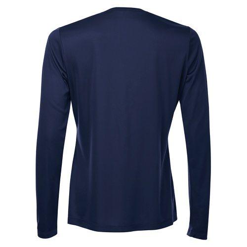 Custom Printed ATC L3520LS Pro Team V-Neck Long Sleeve Ladies' Tee - 2 - Back View | ThatShirt