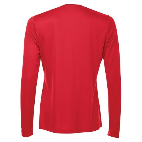 Custom Printed ATC L3520LS Pro Team V-Neck Long Sleeve Ladies' Tee - 3 - Back View | ThatShirt