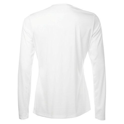 Custom Printed ATC L3520LS Pro Team V-Neck Long Sleeve Ladies' Tee - 5 - Back View   ThatShirt